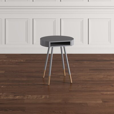 Camire End Table Color: Frost Gray