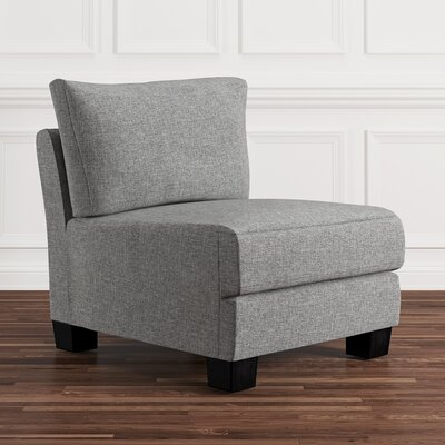 Camp Mabry Slipper Chair Upholstery: Gray