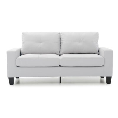 Tiff Modern Sofa Finish: White