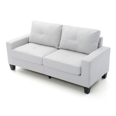 Tiff Modern Sofa Finish: White