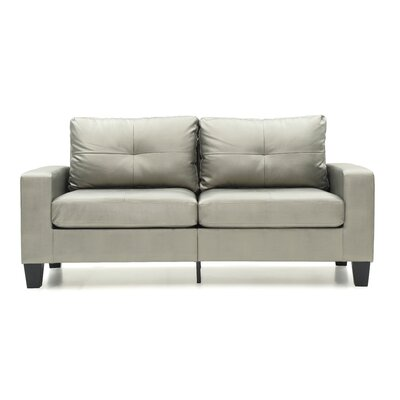 Melantha Sofa Finish: Silver Antiqued