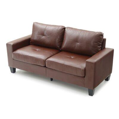 Tiff Modern Sofa Finish: Brown