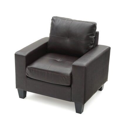 Tiff Armchair Upholstery: Cappuccino