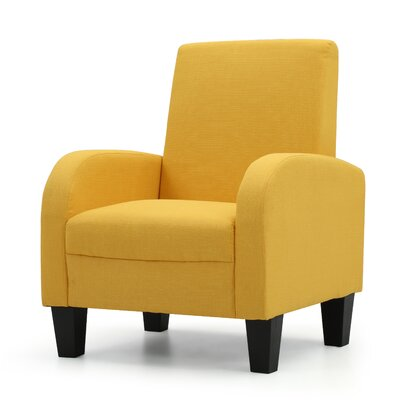 Tiff Armchair Upholstery: Yellow