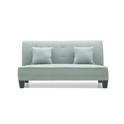 Melantha Settee Upholstery: Light Blue