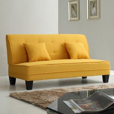 Melantha Settee Upholstery: Yellow