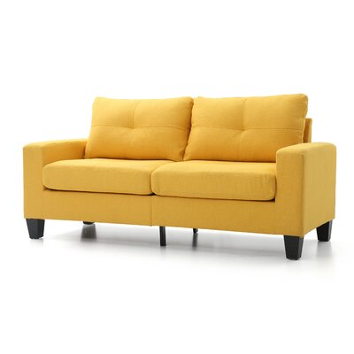 Tiff Sofa Finish: Yellow