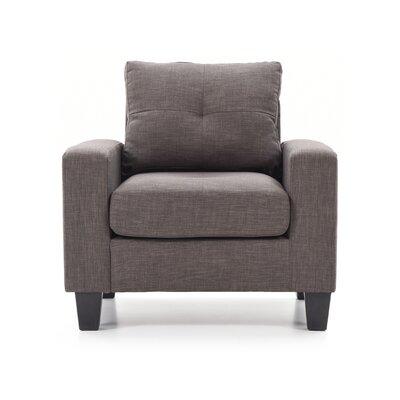 Tiff Armchair Color: Gray