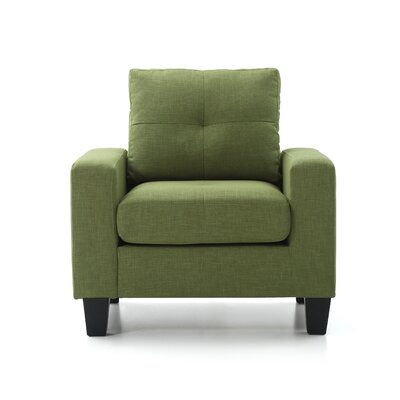 Tiff Armchair Color: Green