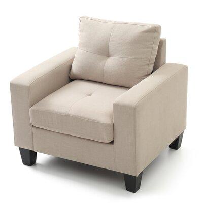 Tiff Armchair Upholstery: Beige