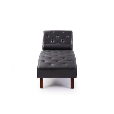 Tiff Chaise Lounge Finish: Black