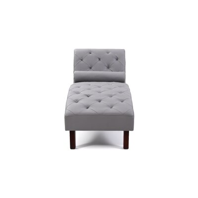 Tiff Chaise Lounge Finish: Gray