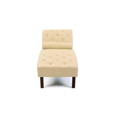 Tiff Chaise Lounge Finish: Beige