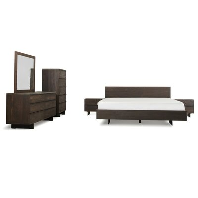 Posada Platform 6 Piece Bedroom Set Size: Eastern King