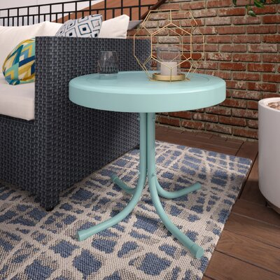 Timothea Side Table Finish: Caribbean Blue