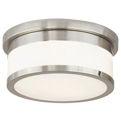 Canning 2-Light Flush Mount Finish: Brushed Nickel