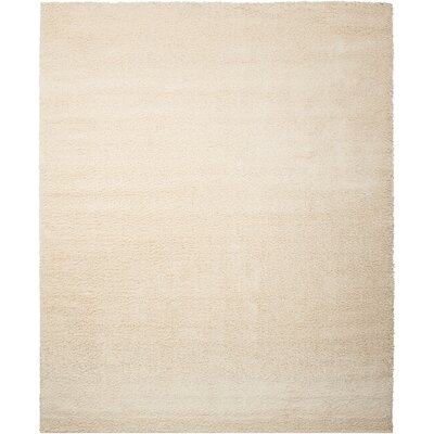Kalypso Cream Area Rug Rug Size: Rectangle 5 x 7