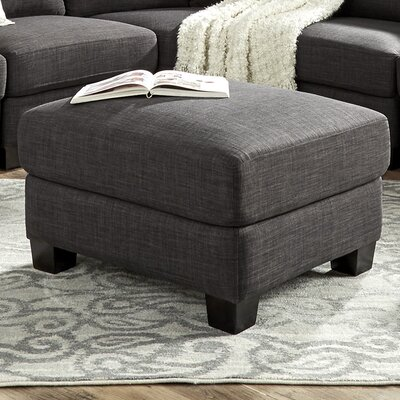 Alkmene Ottoman Color: Dark Gray