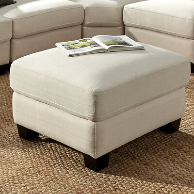 Alkmene Ottoman Color: White