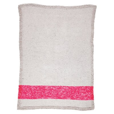 Veasley Hand-Woven Pink/Beige Area Rug Rug Size: Rectangle 4 x 6