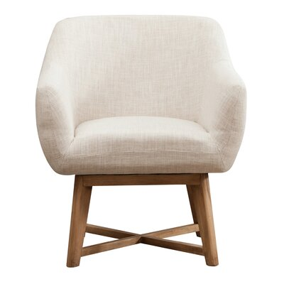 Colter Arm Chair Upholstery: White
