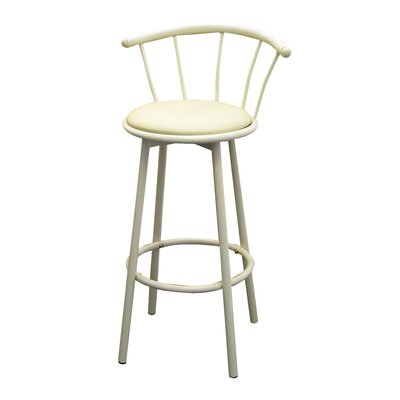 Cantara 29 Swivel Bar Stool Finish: Ivory