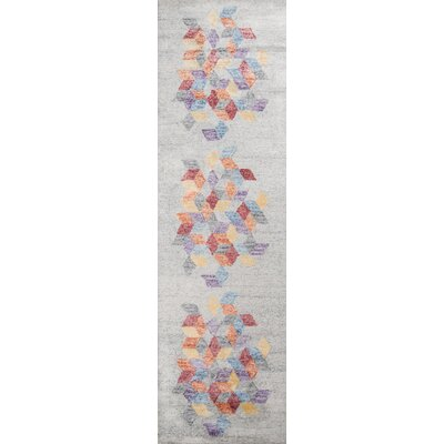 Brooks Hand-Tufted Gray Area Rug Rug Size: Runner 23 x 8