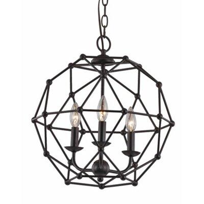 Cavanagh 4-Light Globe Pendant Finish: Rubbed Oil Bronze