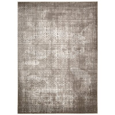 Welch Gray Area Rug Rug Size: 53 x 74