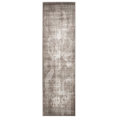 Welch Gray Area Rug Rug Size: Runner 22 x 76