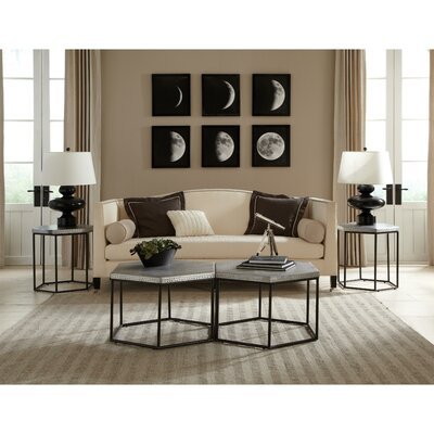 Glancy Hexagon Coffee Table Set
