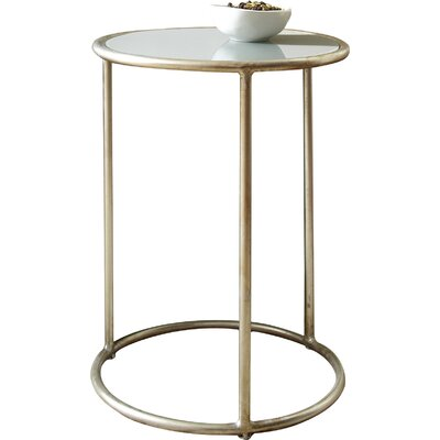 Geter Side Table Finish: Silver