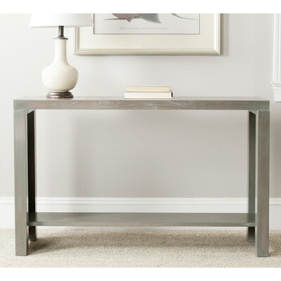 Geyer Console Table Finish: French Grey