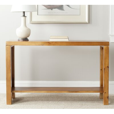 Geyer Console Table Finish: Pecan