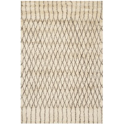 Gholston Tan/Brown New Zealand Area Rug Rug Size: 6 x 9