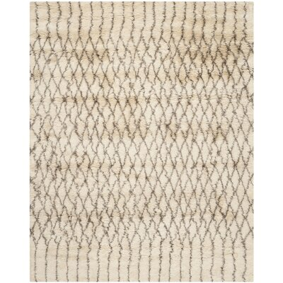 Gholston Tan/Brown New Zealand Area Rug Rug Size: 8 x 10