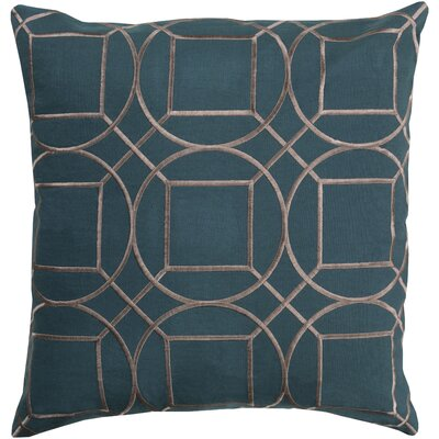 Alam Linen Pillow Cover Size: 18 H x 18 W x 1 D, Color: GreenGray