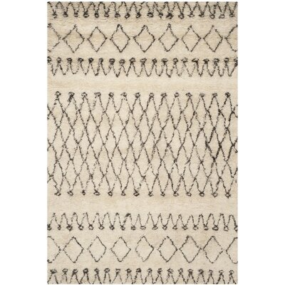 Gholston Tan/Brown Area Rug Rug Size: 6 x 9
