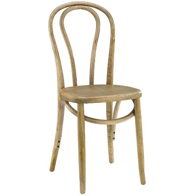 Matthew Solid Wood Dining Chair Finish: Natural
