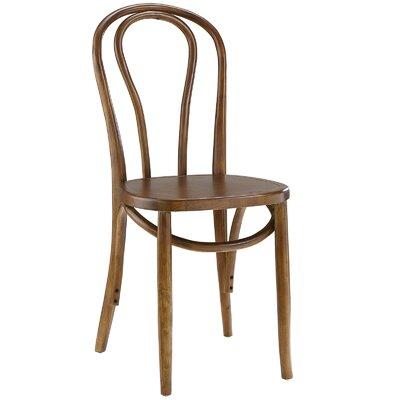 Matthew Solid Wood Dining Chair Finish: Walnut