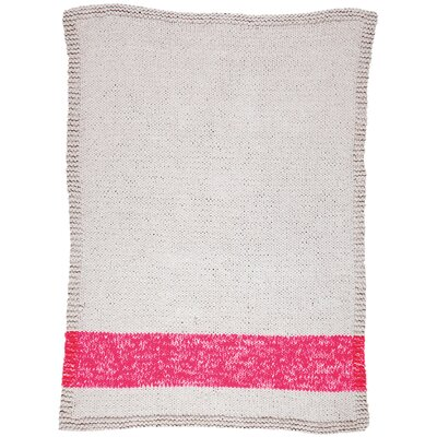 Veasley Hand-Woven Pink/Beige Area Rug Rug Size: 8 x 10