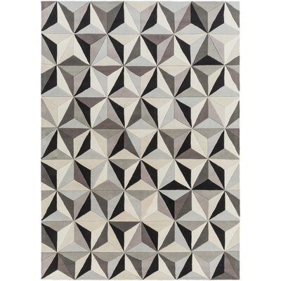 Vaughan Geometric Area Rug Rug Size: Rectangle 2 x 3