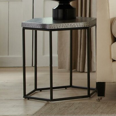 Glancy Hexagon End Table