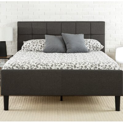 Amici Upholstered Platform Bed Size: King