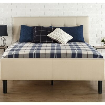 Amick Upholstered Platform Bed Size: King