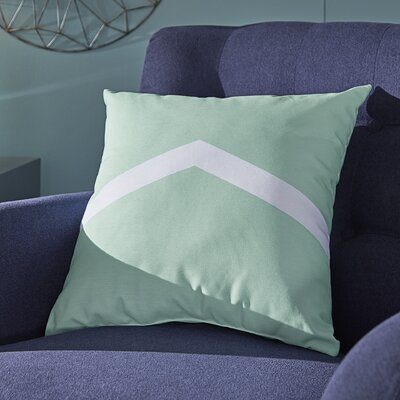 Uselton Throw Pillow Size: 18 H x 18 W, Color: Ocean / Jade