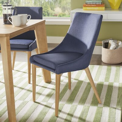 Blaisdell Side Chair Upholstery: Twilight Blue