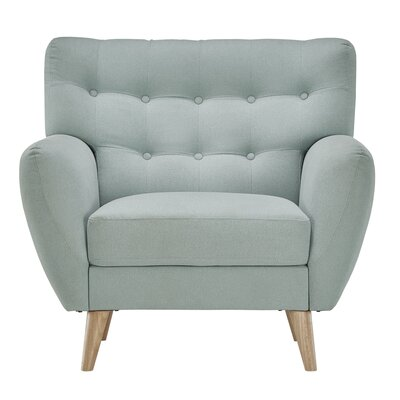 Blakeman Armchair Color: Hazy Blue