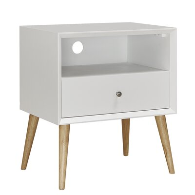 Blakeney End Table Finish: White