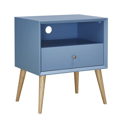 Blakeney End Table Finish: Heritage Blue